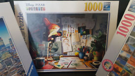 Sell puzzles, individually or as a set