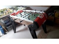 Smoby bar/table football in excellent condition