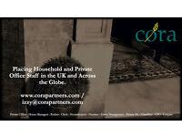 BUTLER (COUPLE) - SCOTTISH HIGHLANDS - ACCOMMODATION PROVIDED