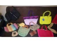 Ladies shoes and bags