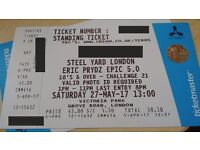 Eric Prydz EPIC 5.0 Steel Yard Ticket