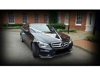 Chauffeured Wedding Car Hire in Brighton from £50/h Mercedes-Benz