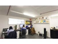 2 desk spaces available in our newly acquired studio in Netil House, Hackney.