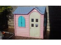 Little Tikes - Pink Country Cottage Playhouse £60