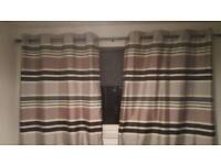 Monostriped curtains
