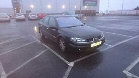 Renault laguna dynamique 2l petrol 2006, MOT end august