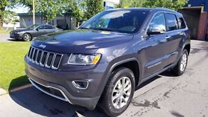 2014 Jeep Grand Cherokee LIMITED V6 4X4 - TOIT+CUIR+DÉMARREUR!!