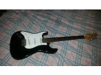 Left Handed Encore Blaster Electric Guitar