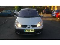 1.5 renault scenic 2006 year manual diesel 85000 miles history mot 8/9/2017..12 months aa cover