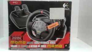 Logitech MOMO Racing Wheel. We Sell Used Game Consoles(1) (#51907) (Sr95481)