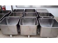 Stainless Steel Ingredient Bin