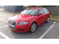Audi a3 diesel 5 door tax and long mot in great condition