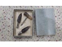 Corkscrew & bottle opener set