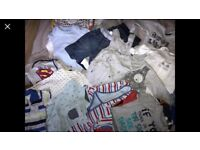 Boys 0-3 months clothing bundle