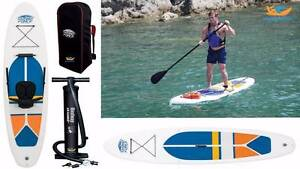 Inflatable Stand Up Paddleboard iSUP and Kayak - Bestway 75% OFF Mayfield East Newcastle Area Preview