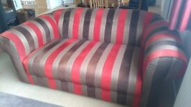 Large, heavy 2 seater Chesterfield settee.