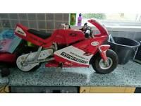 Mini moto sport.18v battery powered