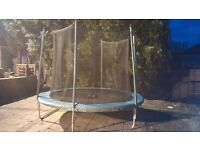 10 ft trampoline for sale - with a net
