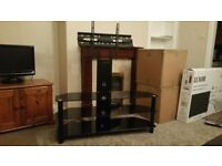 "Tv stand up to 55"" tv"