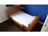 IKEA childs extendable bed, great condition.
