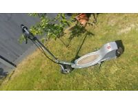 Electric scooter grey.