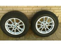 BMW E60 Winter Tyres and Alloys