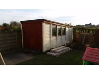 Concrete garage 17x8 ft approx, buyer to dismantle and pickup, free of charge