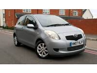 2007 Toyota Yaris 1.3 VVT-I Zinc 3DR++Full Service History+Mint car+Drives Well