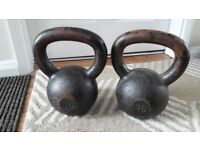 USED 16KG & 20KG WEIGHT KETTLEBELLS - individually priced