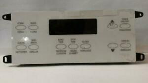 318013700 Frigidaire (qty 2) RANGE OVEN CLOCK TIMER OVERLAY CONTROL BOARD Fits Models: CGLEF384DS4