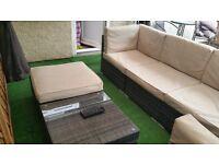 Kensington Club Square 7 Piece Corner Sofa Set (£799 New) - £450