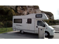 PEUGEOT BOXER COMPASS STUNNING CONDITION MOTORHOME AND VERY LOW MILEAGE