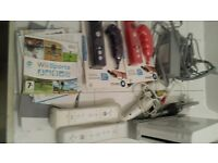 Nintendo wii with loads of accessories