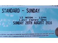 2 x Creamfields Sunday Day Tickets