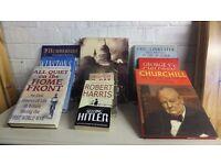 Box of 9 History Books