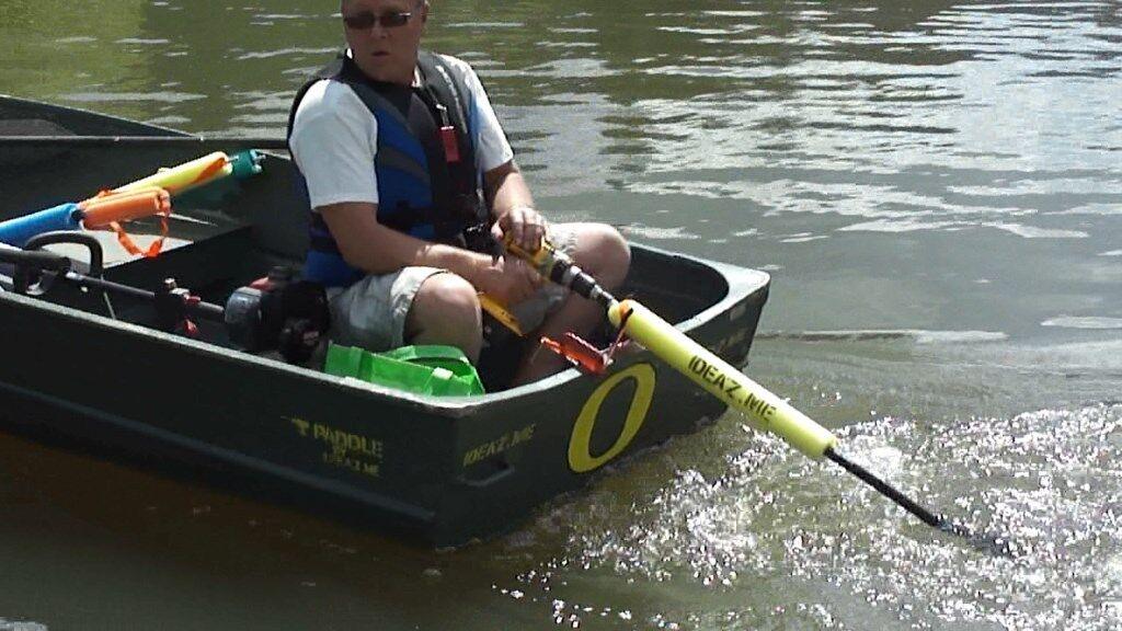 Redneck Trolling Motor 4 Kayak Tube Gater