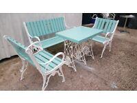 Antique Garden bench set