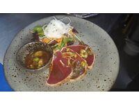 Chef de Partie, fish restaurant London Bridge