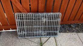 Double door dog training crate Medium size
