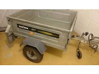 Daxara Galvanised Car/Camping Tipping Trailer
