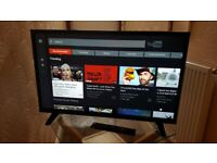 BRAND NEW BOXED LUXOR 32 INCH SMART HD TV WITH WIFI, APPS