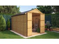 WANTED - 10x6 or 8x6 Shed with double/wide doors