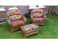 Conservatory furniture set, patio chairs and table, garden furniture. Delivery possible.
