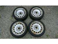 "Steel wheels 17"" Falken Eurowinter HS 439 tyres"