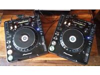 PIONEER CDJ 1000 MK3 CD DECKS - GREAT CONDITION. SELLING AS A PAIR OR INDIVIDUALLY.
