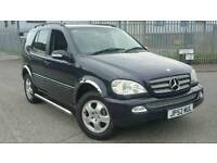 MERCEDES ML320 4x4 LPG WITH TOWBAR GAS DUAL FUEL ALLOYS WITH GOOD TYRES