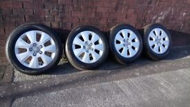 Audi a3 wheels and tyres excellent condition