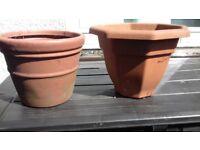Free plant pots x3