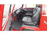 VW Bay-window camper van