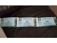 Legend of Darts VIP tickets x3
